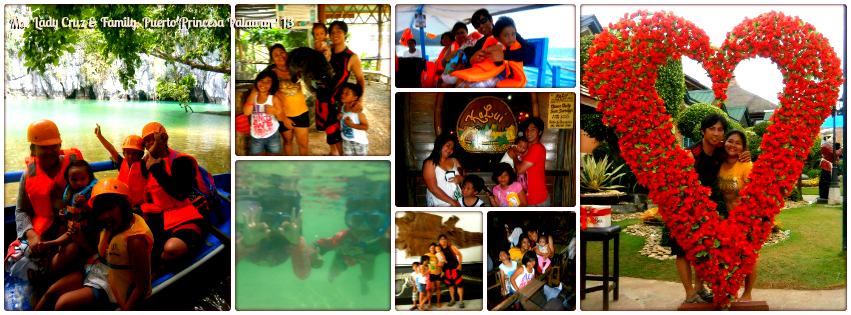 Ms. Lady Cruz & Family - Puerto Princesa, Palawan Family Getaway '13