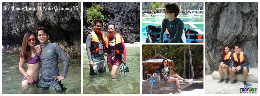 Mr. Lhouie Luna - El Nido, Palawan Tour for Two '15
