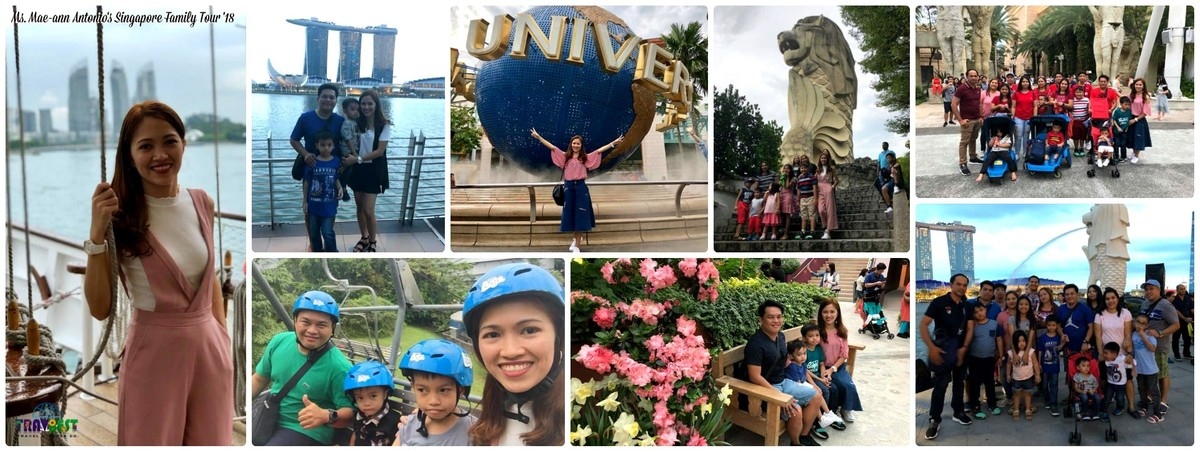 Ms. Mae Ann Antonio & Family - Singapore Vacation '18