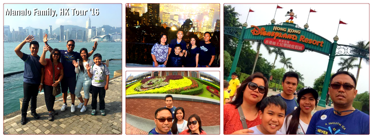 Manalo Family - Hongkong Family Vacation '16