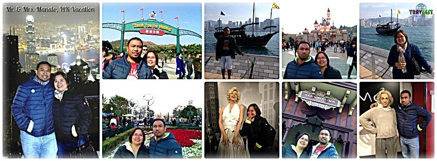Mr. & Mrs. Manalo - Hongkong Tour for Two '14