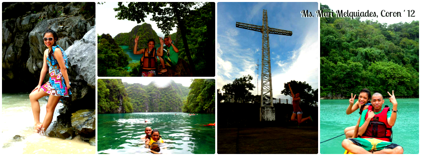 Ms. Mari Melquiades - Coron, Palawan Tour for Two '12