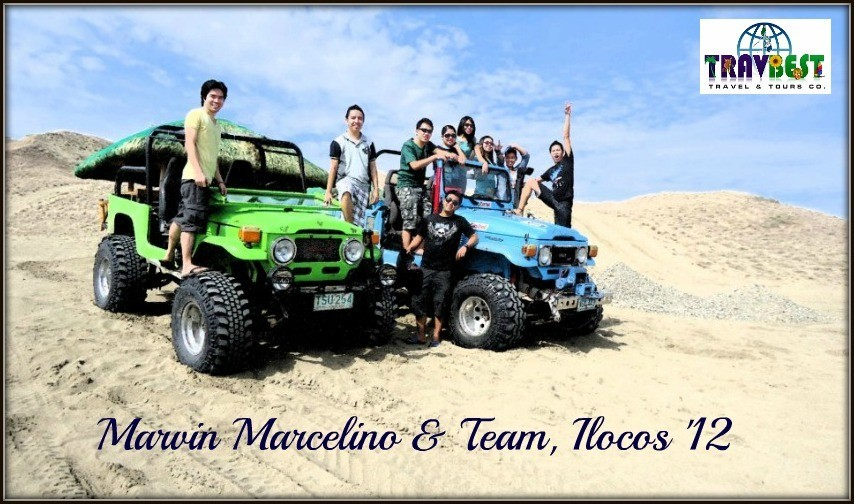 Mr. Marvin Marcelino and Team - Ilocos Vacation '12