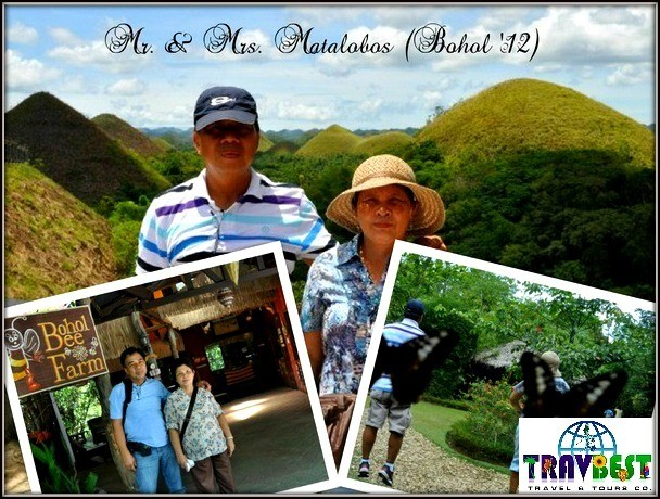 Mr. & Mrs. Matalobos - Bohol Travel Gift from Ms. Regina