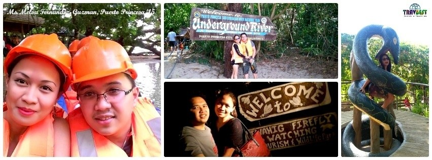 Ms. Melva Fernandez - Puerto Princesa, Palawan Tour for Two '15