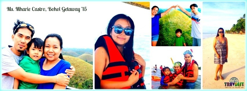 Ms. Mharie Castro - Bohol Family Getaway '15