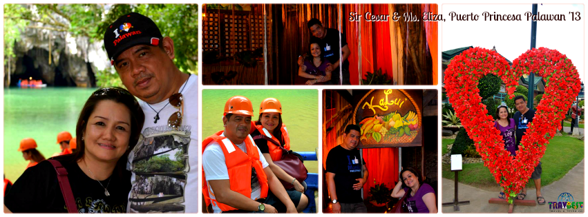Mr. Cesar & Ms. Eliza - Puerto Princesa, Palawan Tour for Two '13