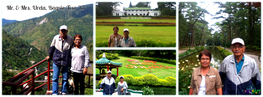Mr. & Mrs. Ureta - Baguio Tour for Two '13