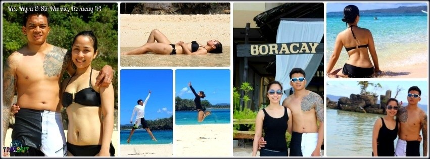Ms. Myra & Mr. Narvie - Boracay Honeymoon Tour '14
