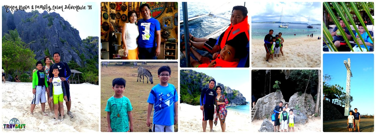 Ms. Nancy Grace Orpia & Family - Coron, Palawan '18