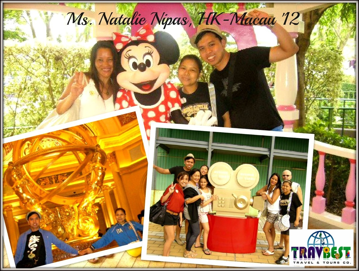 Ms. Natalie Nipas - Hongkong & Macau Vacation '12