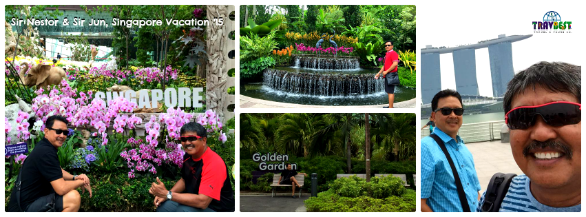 Mr. Nestor & Mr. Jun - Singapore Vacation '15