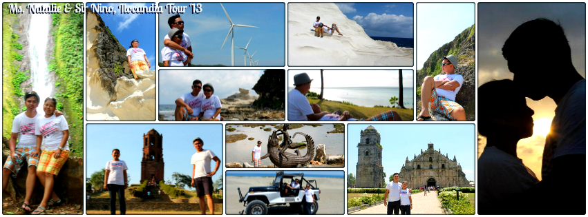 Ms.Natalie & Mr. Nino - Ilocandia Tour for Two '13