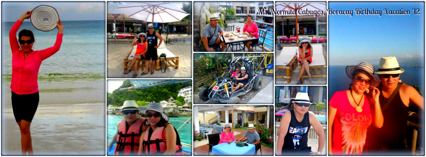 Ms. Normita Cabugos - Boracay Birthday Vacation '12
