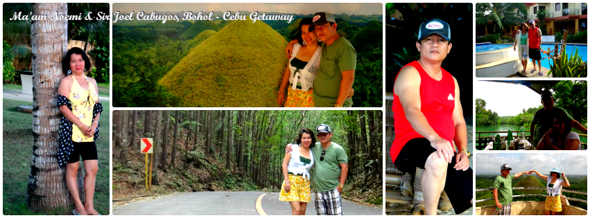 Ms. Noemi & Mr. Joel - Cebu & Bohol Tour for Two '12