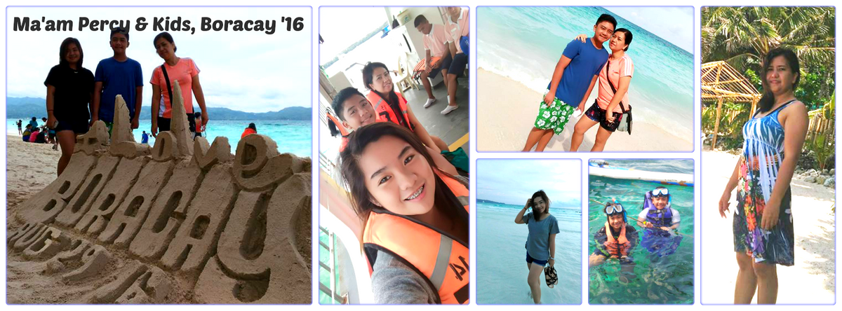 Ms. Precy & Kids - Boracay Family Vacation '16