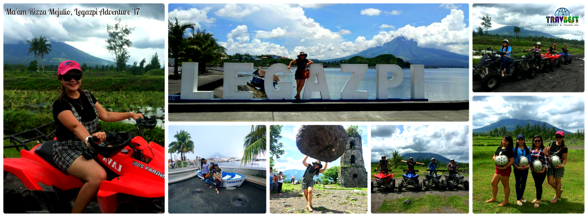 Ms. Rizza Mejulio - Legazpi Adventure '17