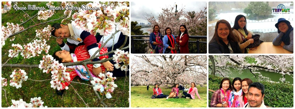 Ms. Rowena Millenas - Japan's Cherry Blossom '17