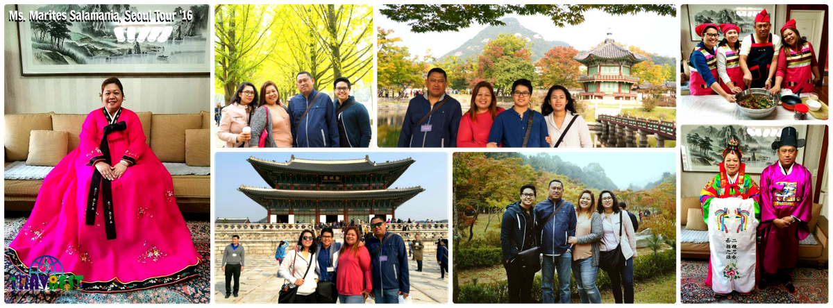 Ms. Marites Salamania - Seoul, South Korea Family Getaway '16