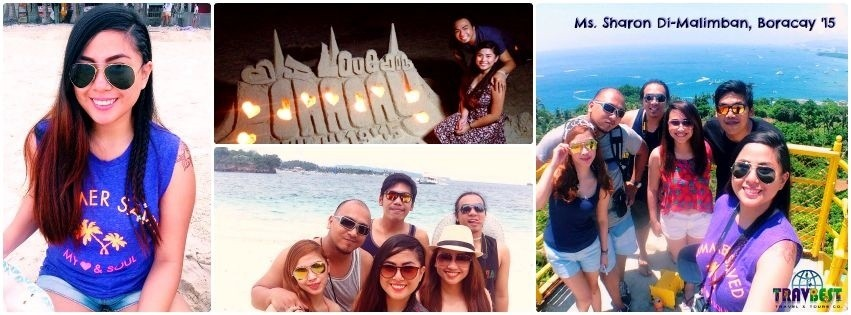 Ms. Sharon Di-Malimban - Boracay Barkada Vacation '15