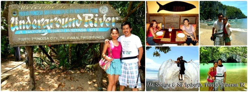 Ms. Shane Tenorio - Puerto Princesa, Palawan Tour for Two '12