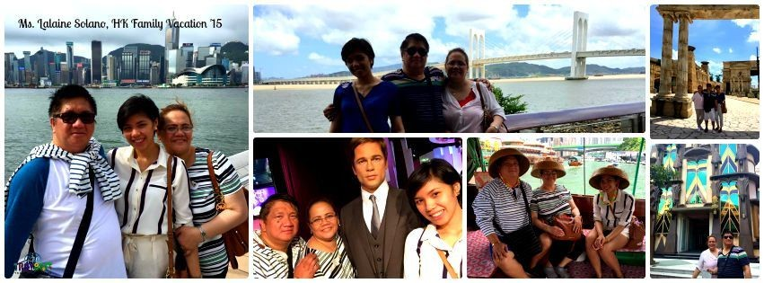 Ms. Lalaine Solano - Hongkong Family Vacation '15