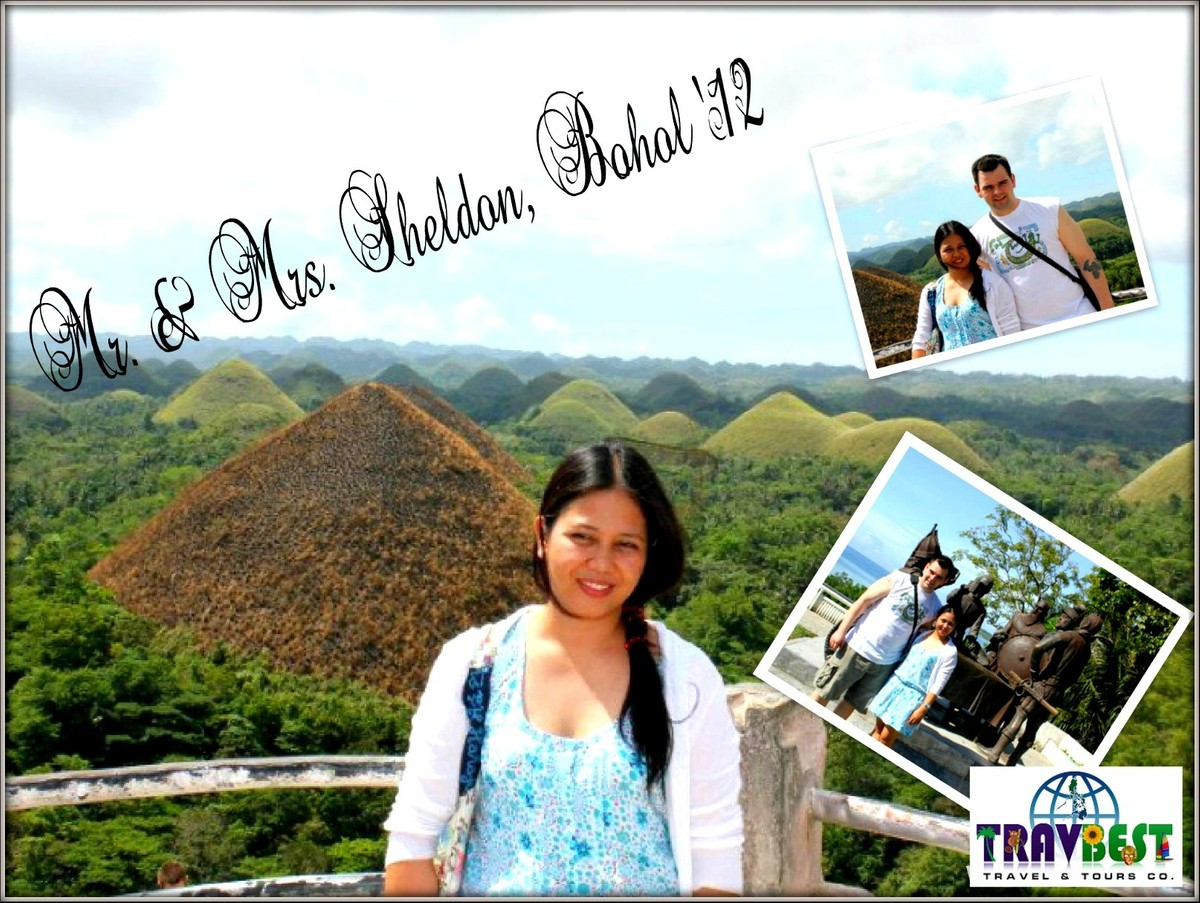 Mr. & Mrs. Sheldon - Bohol Tour for Two '12