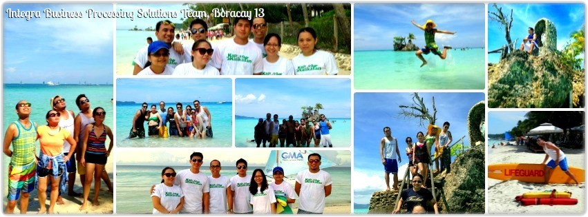 Ms. Yayo Aragon & Team - Boracay Team Vacation '13