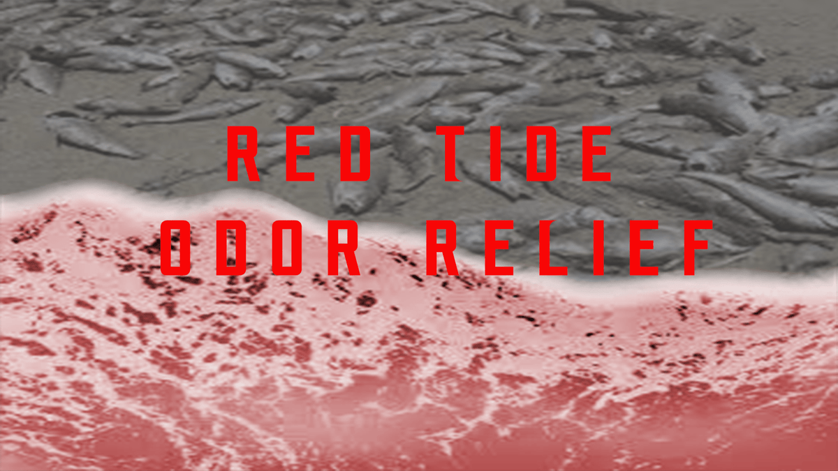 red tide odor