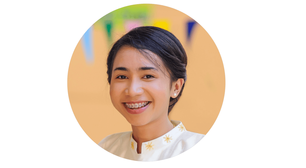 Kru Bow, School Receptionist at Oonrak International School on Maenam, Koh Samui, Thailand