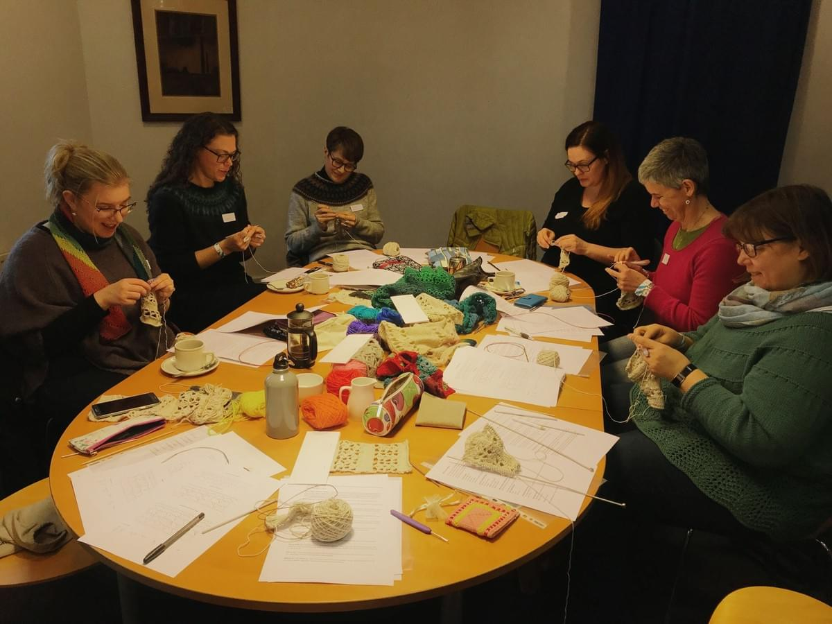 Knit and Crochet Combo class with Carol Meldrum