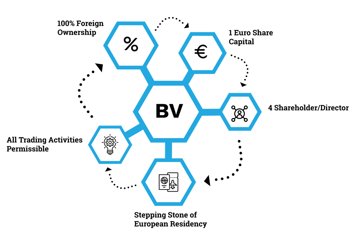 Features of Dutch BV Company