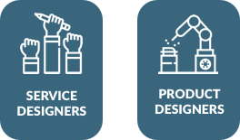 Service Designers and Product Designers