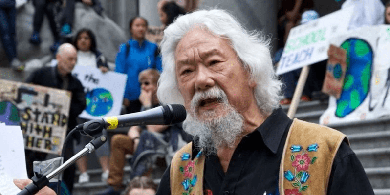 David Suzuki climate scientist and activist