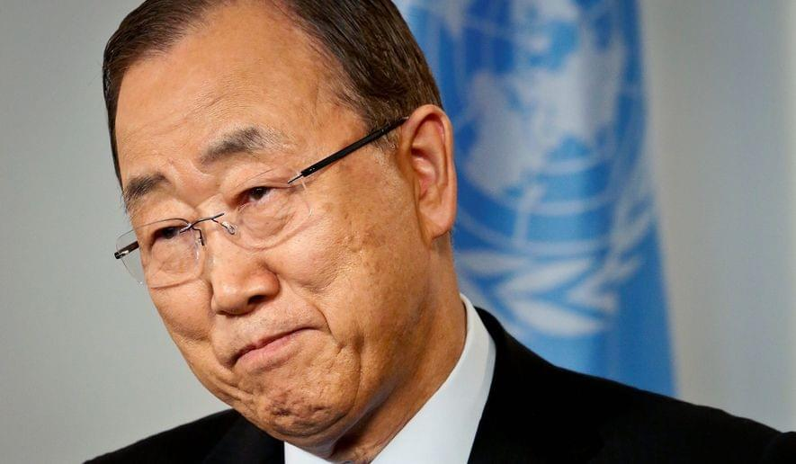 Ban Ki Moon, Secretary General of UN
