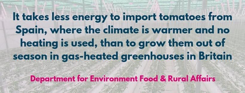 Department for Environment Food & Rural Affairs quote