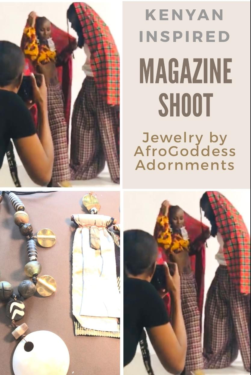 AfroGoddess Adornment In Magazine