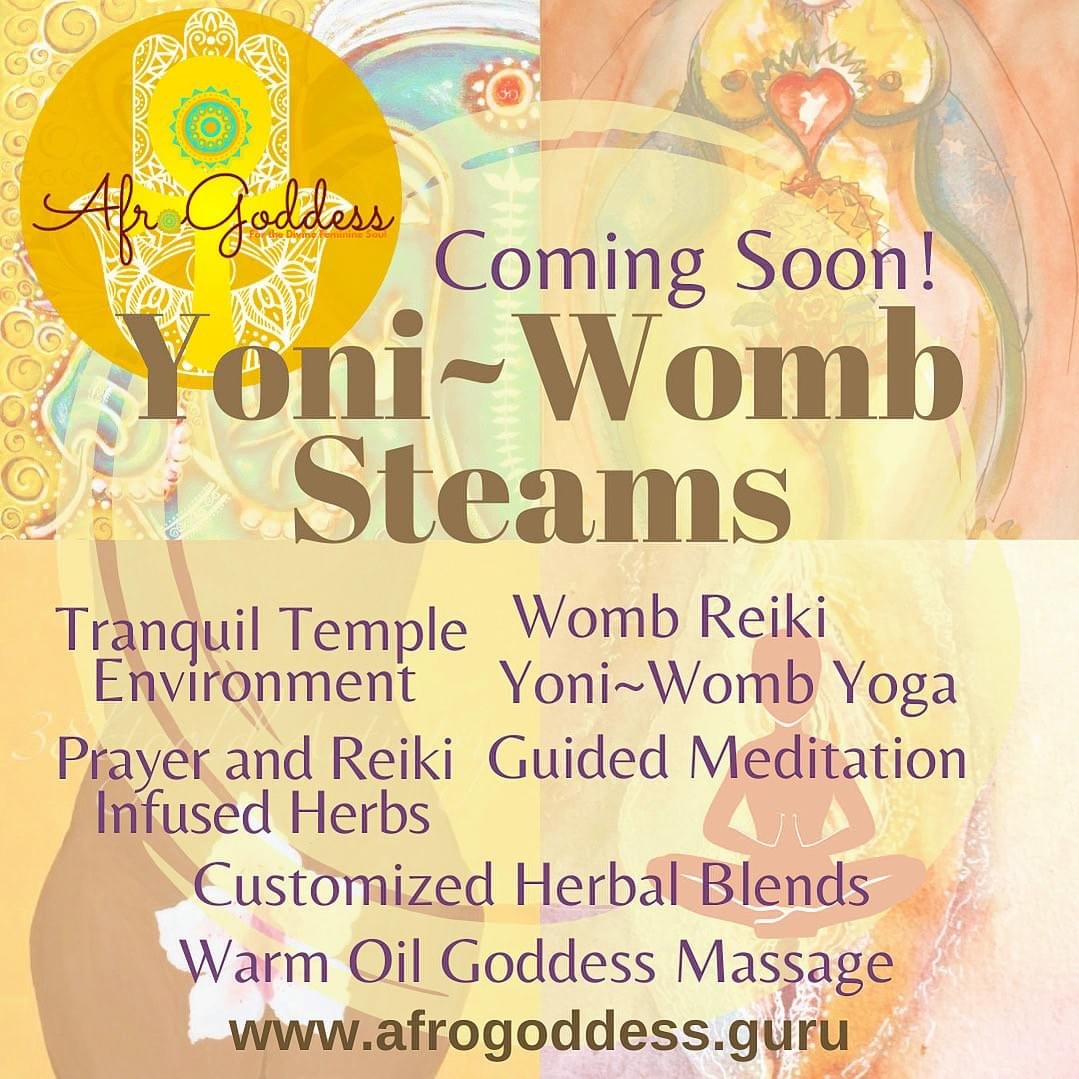 Yoni Womb Steams