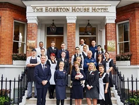 Egerton House Hotel in London, England