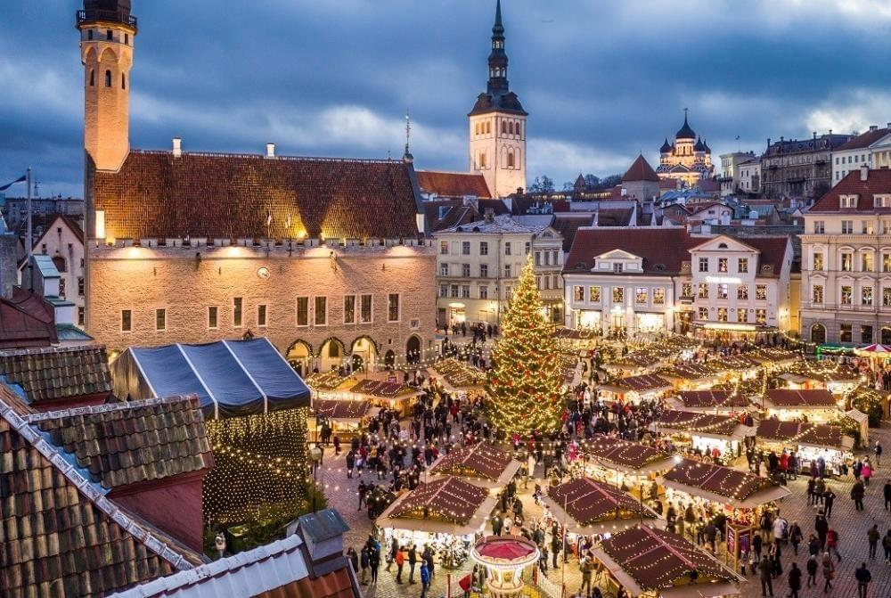 Christmas markets in Europe.
