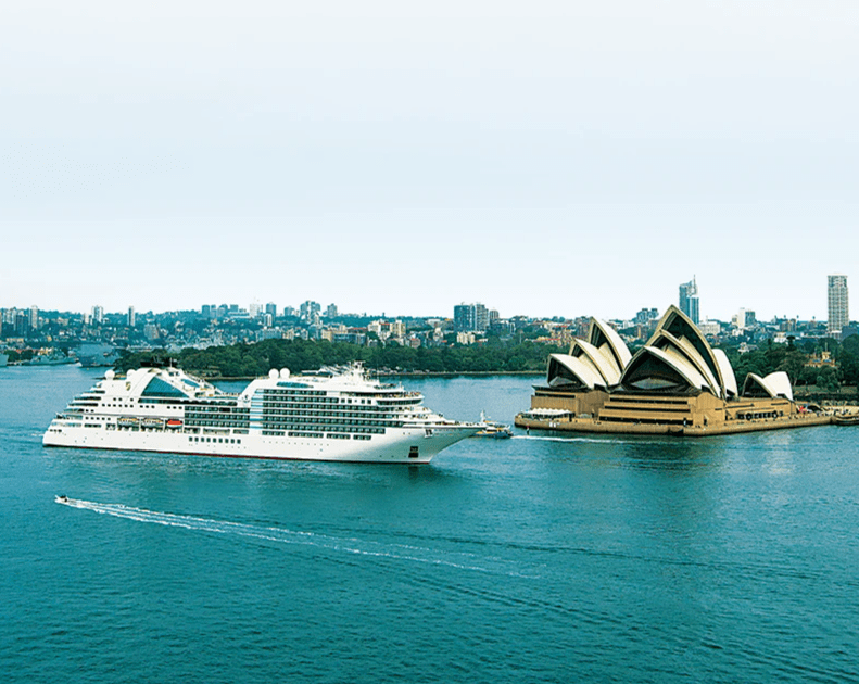 Cruise around the world and visit the beautiful city of Sydney in the heart of Australia