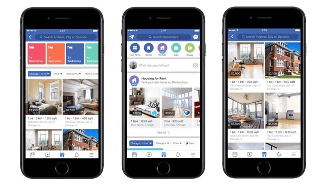 Property Rentals on Facebook Marketplace