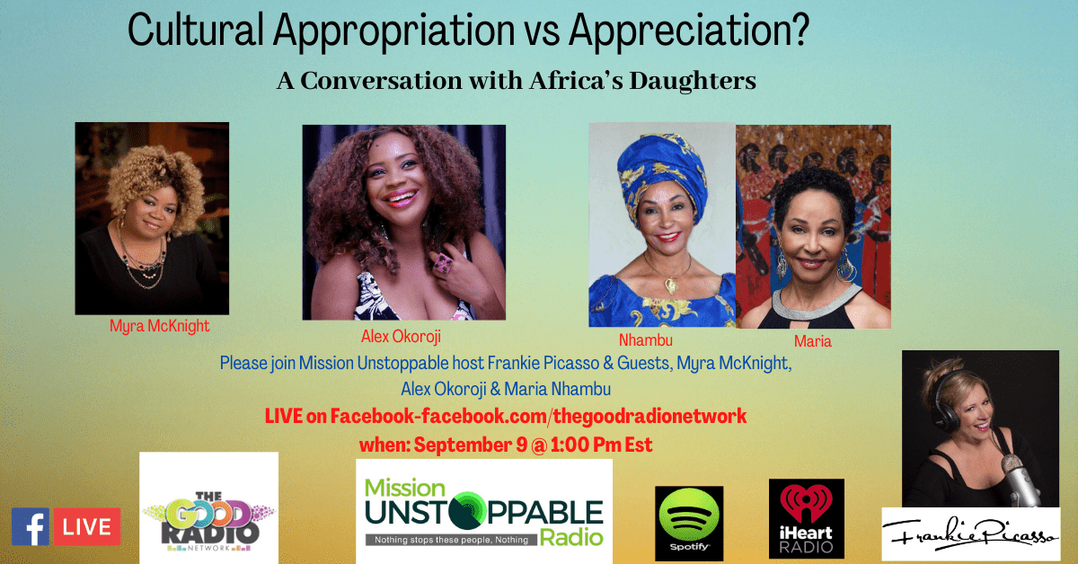 Alex Okoroji joins Myra Mcknight and Frankie Picasso on Mission Unstoppable TV & Radio