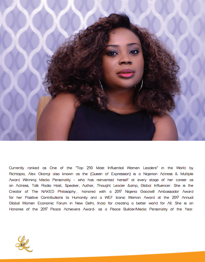Screenshot of Alex Okoroji's Interview on LWL Magazine in the US