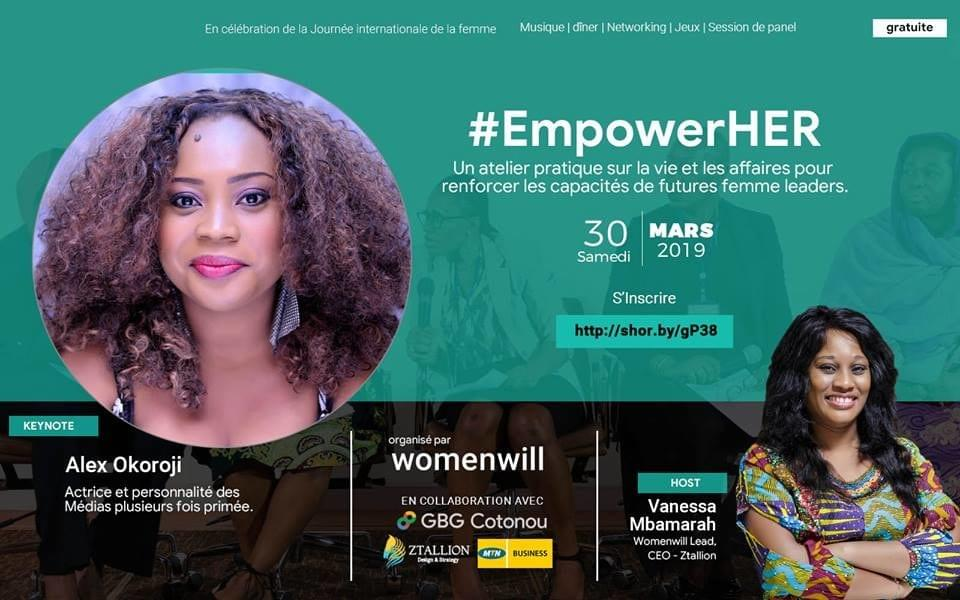 Alex Okoroji is Keynote Speaker at the WomenWill Event hosted by Vanessa Mbamarah , CEO of Ztallion in honor of 2019 IWD and Women's Month