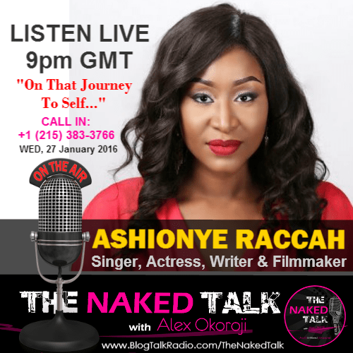 Ashionye Raccah is Guest on THE NAKED TALK