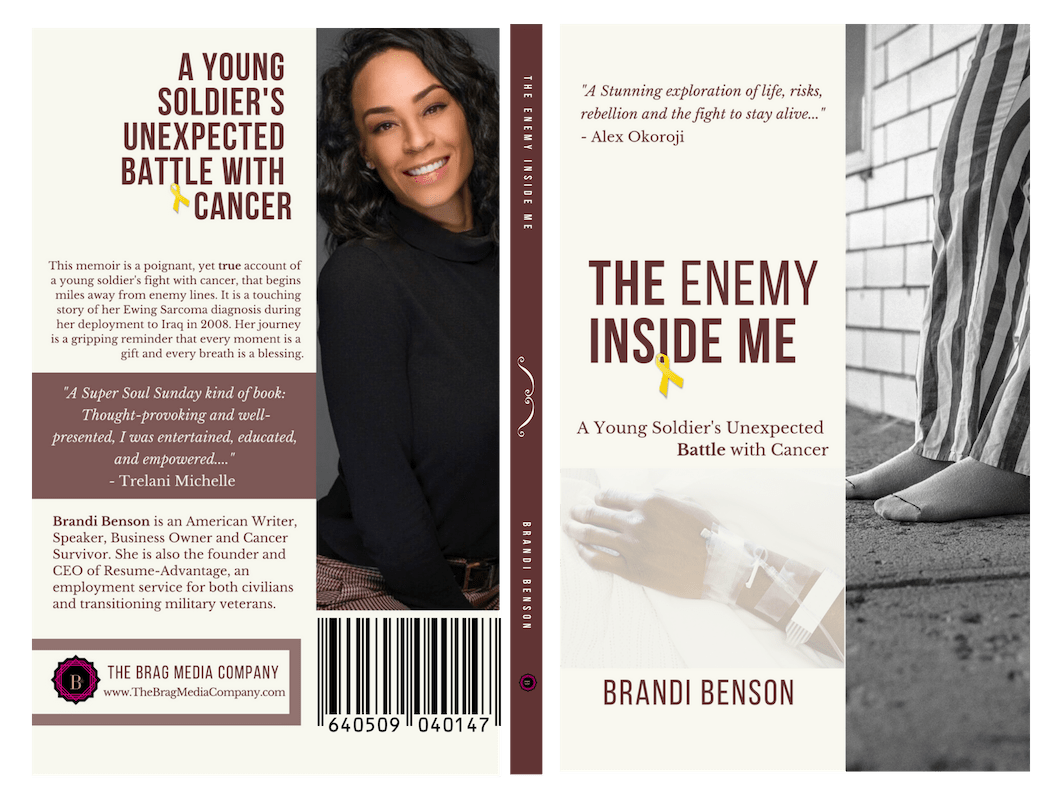 The Enemy Inside Me by Author, Brandi Benson