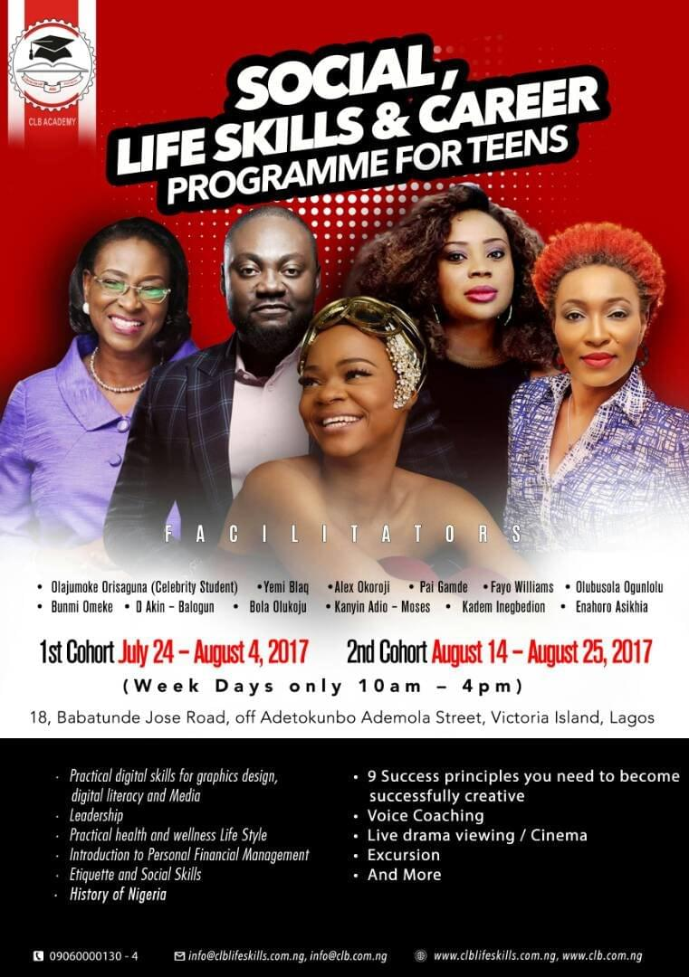 Alex Okoroji to teach at the Centre For Law & Business CLB Life Skill Summer Programme