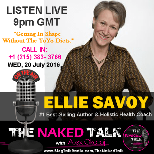 Ellie Savoy is Guest on THE NAKED TALK w/ Alex Okoroji