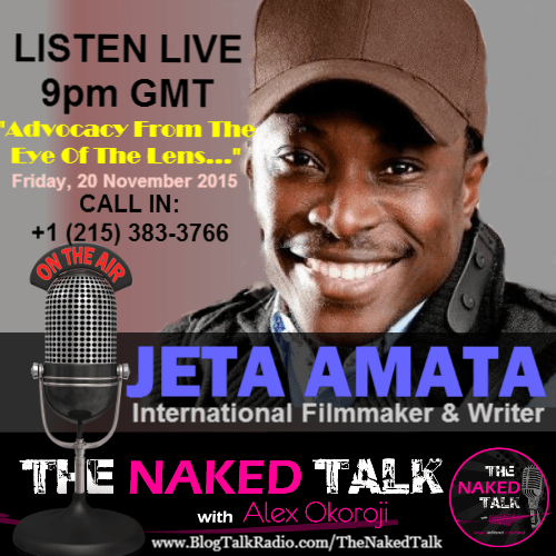 Jeta Amata is Guest on THE NAKED TALK